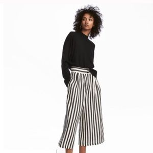 H&M Striped Pants (high waisted)
